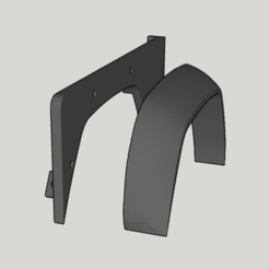 Free 3D model Front fender for Land Rover Defender 110, ildarius2017