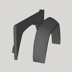 Télécharger fichier STL gratuit Aile avant de la Land Rover Defender 110 • Design à imprimer en 3D, ildarius2017