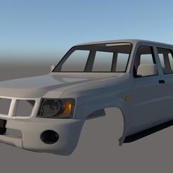 Descargar diseños 3D Nissan Patrol Mk5 Y61 5 puertas 2004 Ver. 2, ildarius2017