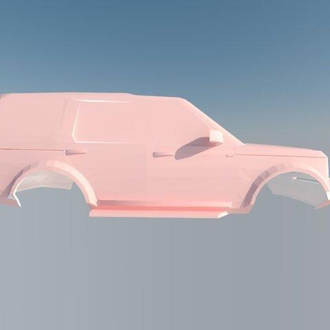 STL files Land Rover Discovery 3, ildarius2017