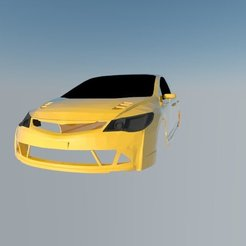 STL files Honda Civic , ildarius2017