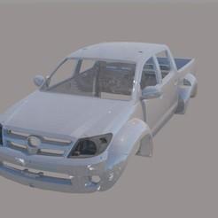 001.jpg Télécharger fichier STL Toyota Hilux Arctic Truck Body 1/10 • Plan pour impression 3D, ildarius2017