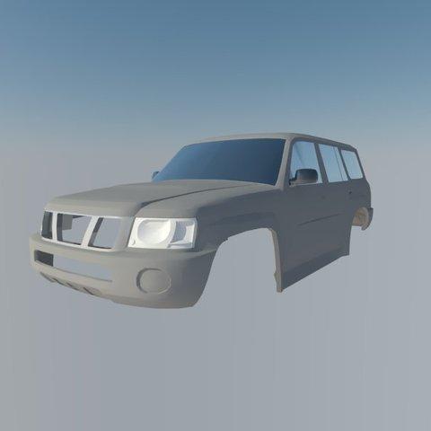 Imprimir en 3D Patrulla de Nissan, ildarius2017