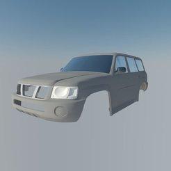 3D print files Nissan Patrol, ildarius2017