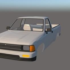 001.jpg Download STL file Toyota Tacoma 1989 Body 1/10 • 3D print object, ildarius2017
