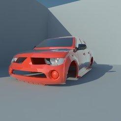Descargar archivos 3D Mitsubishi L200 Triton, ildarius2017