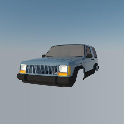 3D print files Jeep Grand Cherokee, ildarius2017