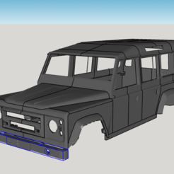 3D printer files Land Rover Defender 110, ildarius2017