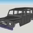 Télécharger plan imprimante 3D Land Rover Defender 110, ildarius2017
