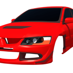 Download 3D print files Mitsubishi Evo8 GT, ildarius2017