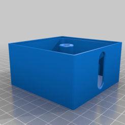 Caja_rollo.png Download free STL file Cable management box • 3D printing object, ONando