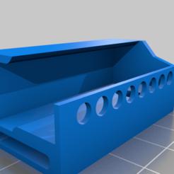 Porta_regleta.png Download free STL file Porta regleta • 3D print template, ONando