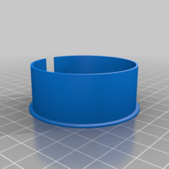 Pasacable_mesa_redondo_2.png Download free STL file Round table cable management • 3D printing template, ONando