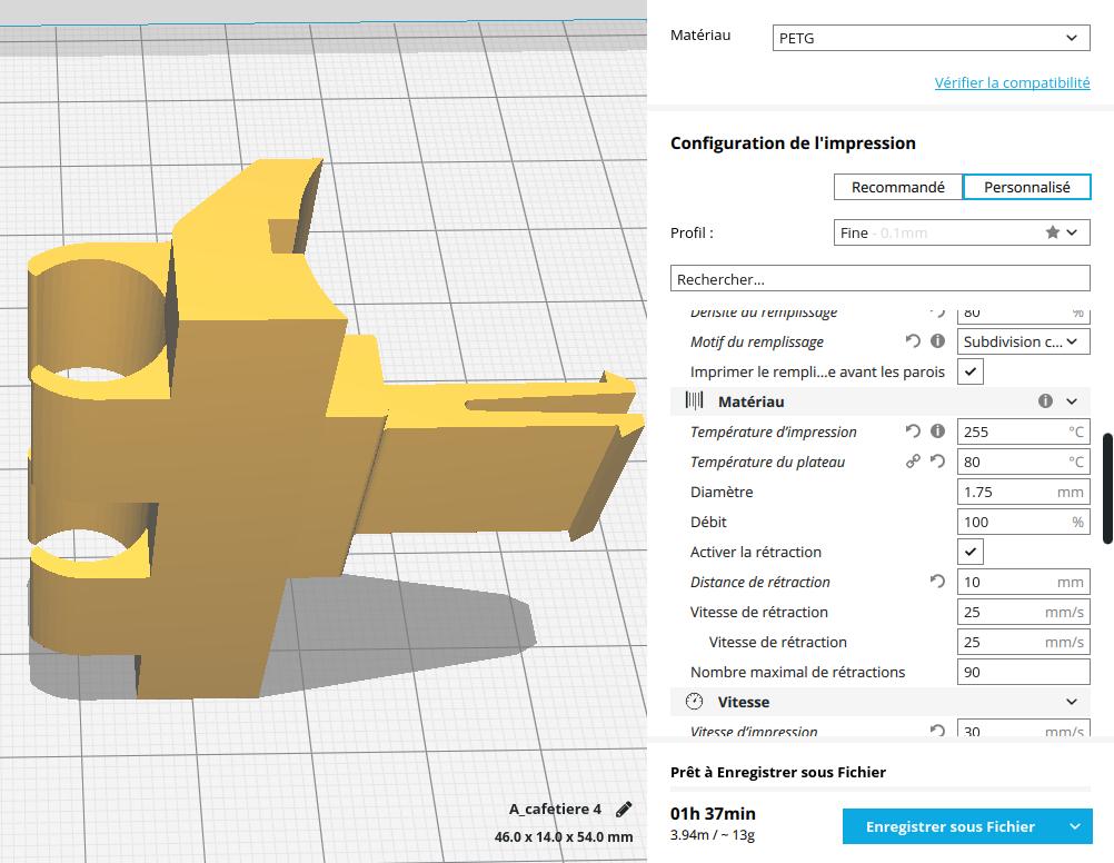 Capture du 2018-08-21 10-06-37.png Download free STL file Malongo Part • 3D printer object, ClementProux