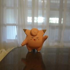 DSC01899.JPG Télécharger fichier STL gratuit Clefairy Pokemon EDLI3D • Objet pour imprimante 3D, ShadowBons