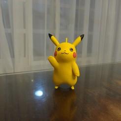 Impresiones 3D gratis Pikachu Pokemon EDLI3D, ShadowBons