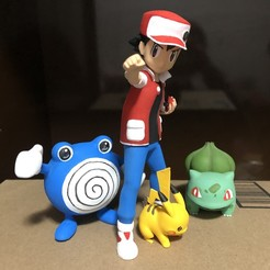 IMG_0982.JPG Download STL file RED pokemon trainer • 3D printer model, ShadowBons