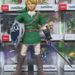 Descargar modelos 3D para imprimir Link (Twilight Princess), ShadowBons