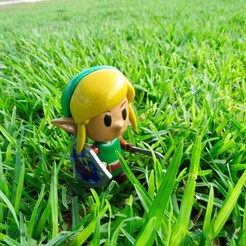 Download 3D printer model Link (Link´s awakening E3 Diorama), ShadowBons