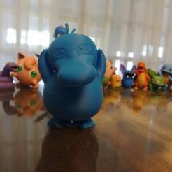 Impresiones 3D gratis Psyduck Pokemon EDLI3D, ShadowBons
