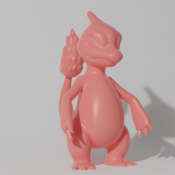 Download 3D printer designs CHARMELEON STANDING (PART OF THE CHARMELEONPACK, AND CHAREVOPACK, READ DESCRIPTION), ShadowBons