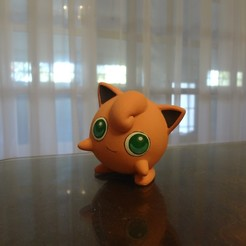 Descargar modelos 3D gratis Jiggliypuff Pokemon EDLI3D, ShadowBons