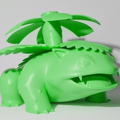 5EE4DA69-265C-4F43-8FBD-77376D1F6F6D.JPG Download STL file VENUSAUR STANDING (PART OF THE VENUSAURPACK, AND BULBASAUREVOPACK, READ DESCRIPTION) • 3D print model, ShadowBons