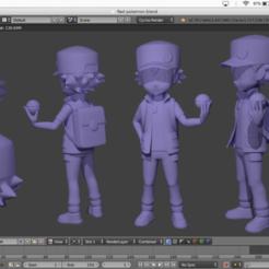 Descargar modelos 3D gratis Próximo proyecto RED POKEMON, ShadowBons