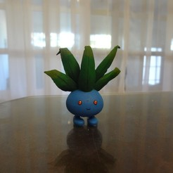 Download free 3D printer designs Oddish Pokemon EDLI3D, ShadowBons