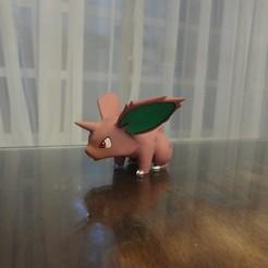 DSC01888.JPG Télécharger fichier STL gratuit Nidoran M Pokemon EDLI3D • Design imprimable en 3D, ShadowBons
