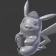 Download 3D model Detective Pikachu, ShadowBons