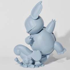 Download 3D printing files WARTORTLE IRON TAIL (PART OF THE WARTORTLEPACK, AND SQUIRTLE EVOPACK, READ DESCRIPTION), ShadowBons