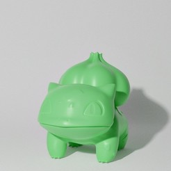 4C46A5DB-75F7-4B69-9728-0B1EEC158E34.JPG Download STL file BULBASAUR STANDING (PART OF THE BULBASAURPACK, AND EVOPACK, READ DESCRIPTION) • 3D printing design, ShadowBons