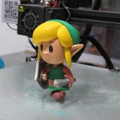 Download 3D printer model Link (Link´s awakening E3 Diorama), ShadowBons