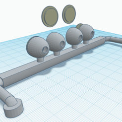 2020-11-11 (1).png Download STL file barra de luces para camion 1/14 • Design to 3D print, JavierLarre