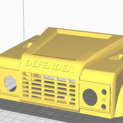 "Download 3D printing files land rover for WPL 1/16"" chassis, JavierLarre"