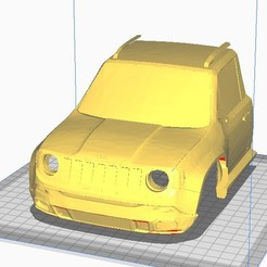 "Download 3D print files renegade jeep for WPL 1/16"" chassis, JavierLarre"