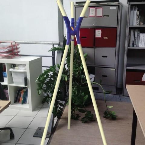 Descargar modelos 3D gratis perchero Curves, GuillaumeSochon