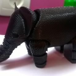 Objet 3D gratuit Elephant, 13941