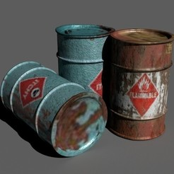 3D file 3d Barrel, kshitijjagdale