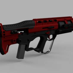 Download 3D printing templates Margay airsoft body-kit, SteinGbb