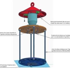 ensemble.jpg Télécharger fichier STL Mangeoire à oiseaux • Plan pour impression 3D, bernard71