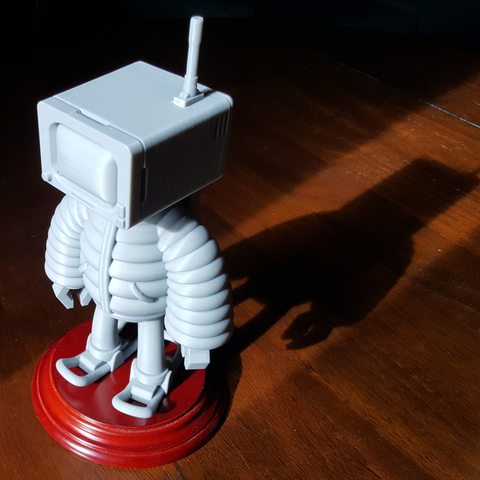 3d printer model T.B (Thug Bot), LaruanLab