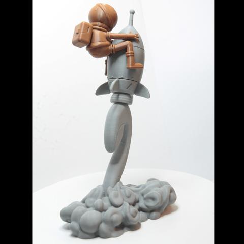 I3.png Download free STL file Stratomaker Mascot • 3D printing template, GGR2