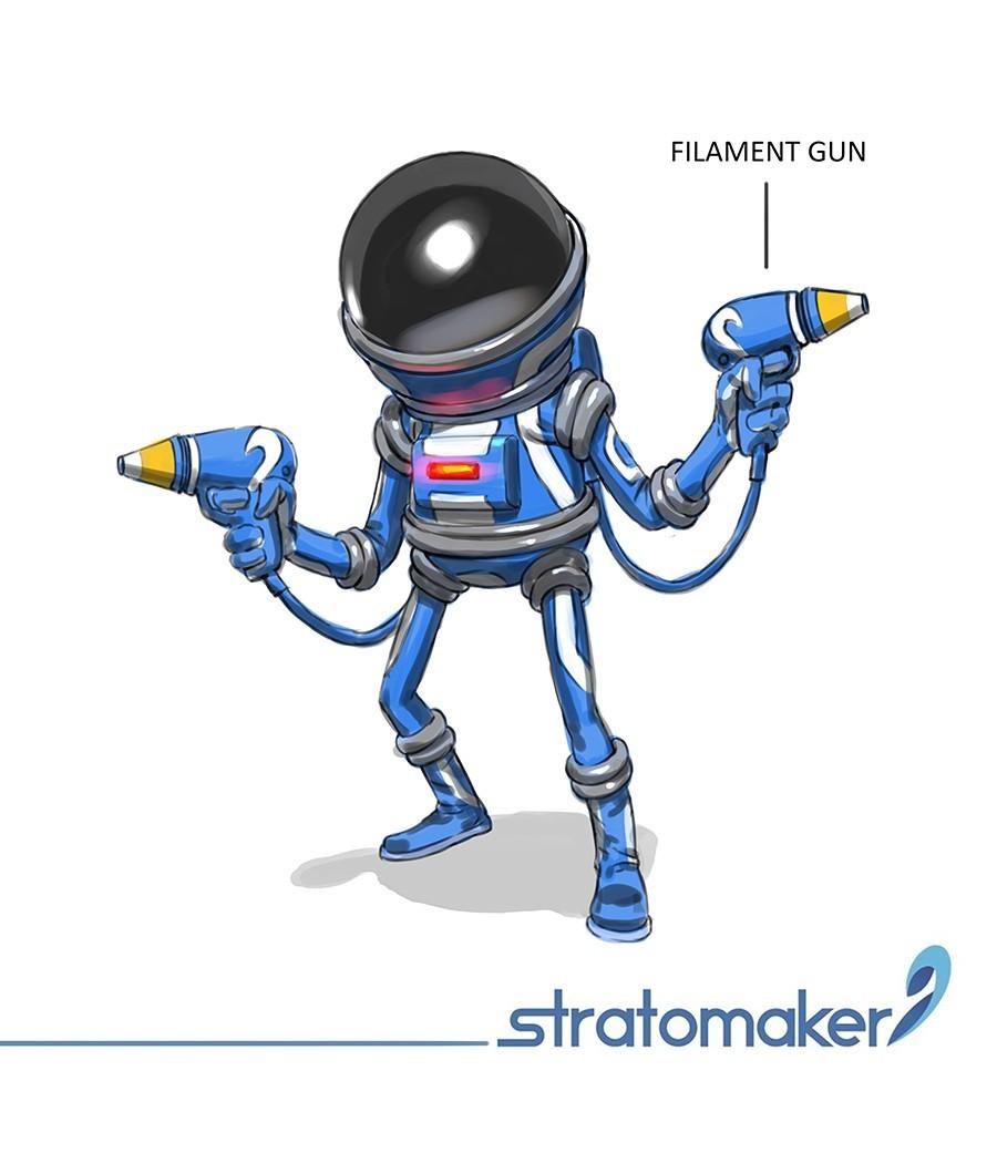stratomaker_mascot.jpg Download free STL file Stratomaker Mascot • 3D printing template, GGR2