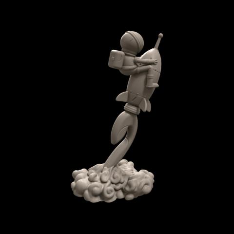 4.png Download free STL file Stratomaker Mascot • 3D printing template, GGR2