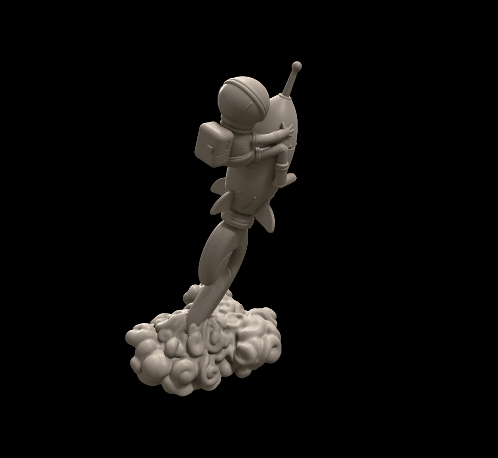 2.png Download free STL file Stratomaker Mascot • 3D printing template, GGR2
