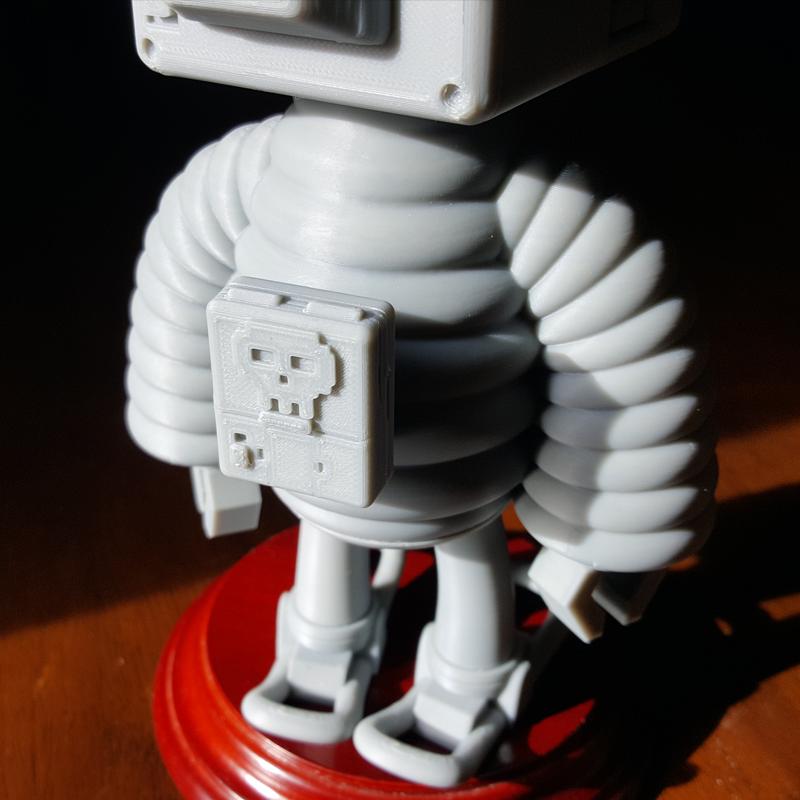 2.png Download STL file T.B (Thug Bot) • 3D printing model, GGR2