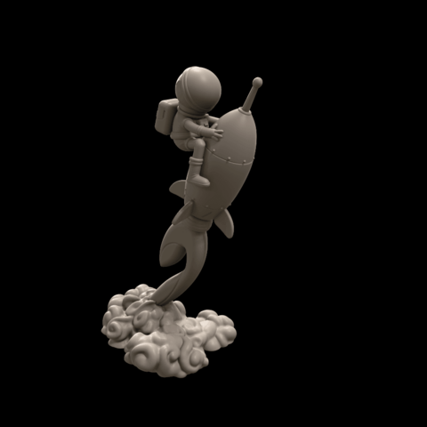 1.png Download free STL file Stratomaker Mascot • 3D printing template, GGR2