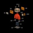 Imprimir en 3D T.B (Thug Bot), LaruanLab